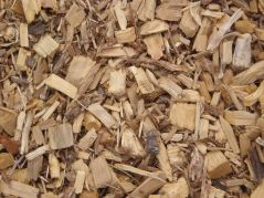 Wood chips are biologically important as mulch on bare soils.
