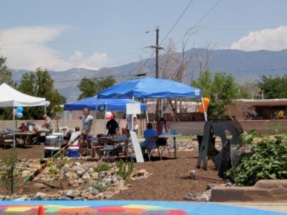 La Mesa Garden Park summer gathering